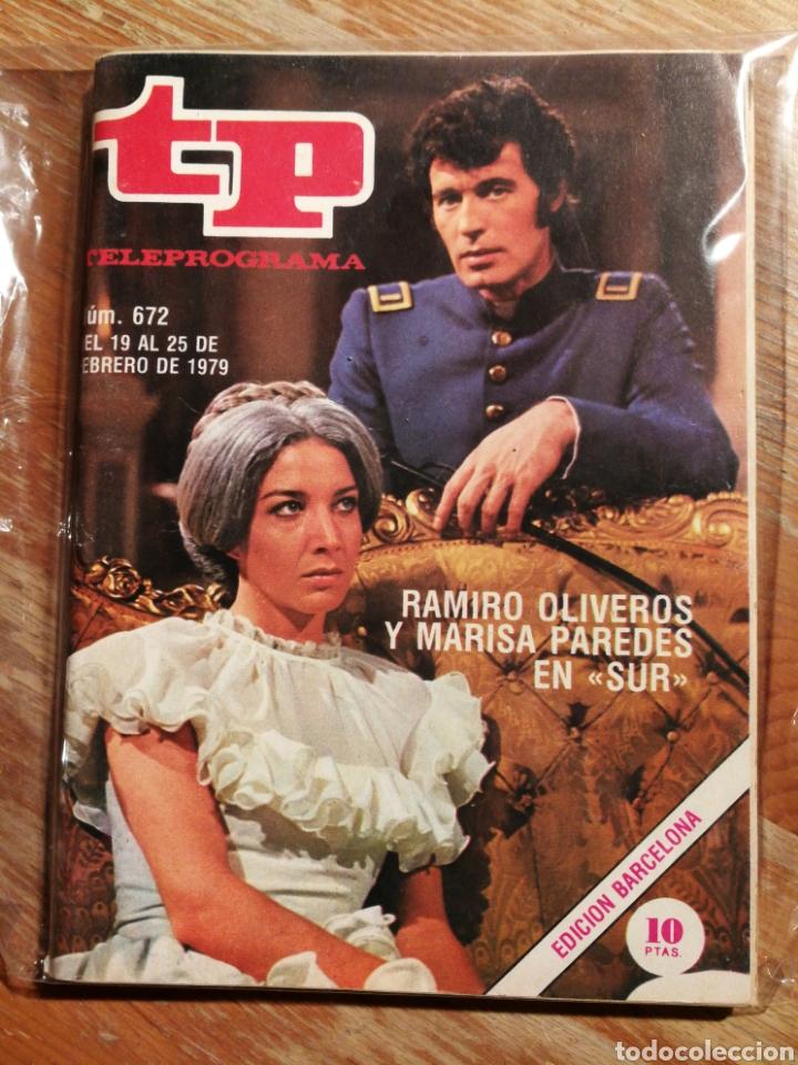 TP TELEPROGRAMA N°672- SUR, 1979. (Coleccionismo - Revistas y Periódicos Modernos (a partir de 1.940) - Revista TP ( Teleprograma ))