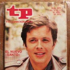 Collectionnisme de Magazine Teleprograma: TP TELEPROGRAMA N°689- EL NUEVO SANTO, 1979.. Lote 151534393
