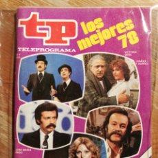 Collectionnisme de Magazine Teleprograma: TP TELEPROGRAMA N°678- LOS MEJORES 78, 1979.. Lote 151535162