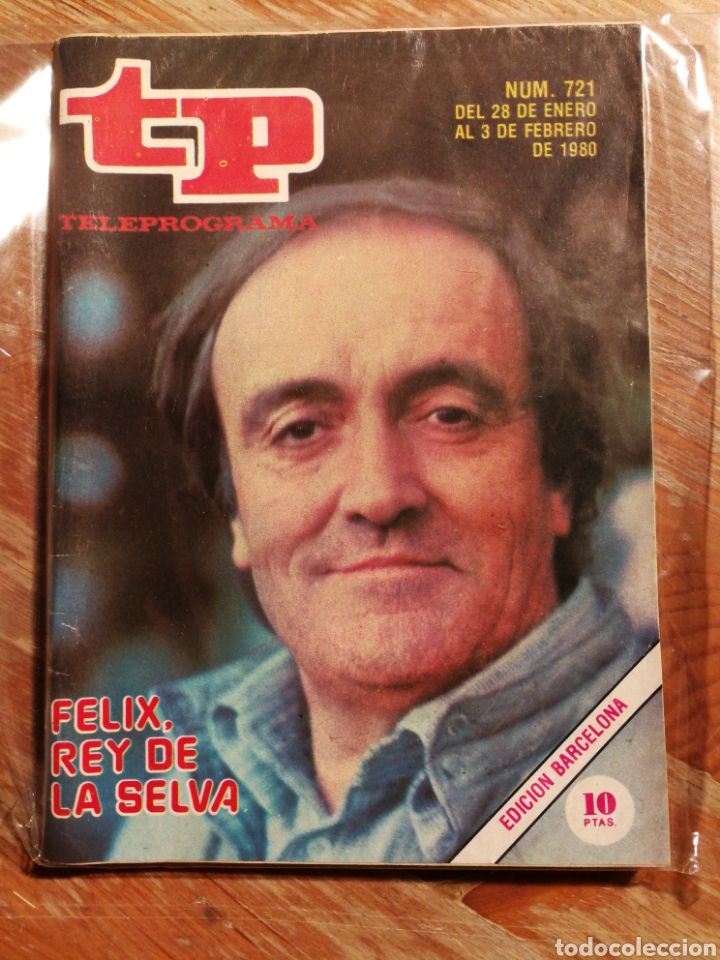 TP TELEPROGRAMA N°721- FELIX RODRIGUEZ DE LA FUENTE, 1980. (Coleccionismo - Revistas y Periódicos Modernos (a partir de 1.940) - Revista TP ( Teleprograma ))
