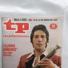 Coleccionismo de Revista Teleprograma: ANTIGUA REVISTA TP (TELEPROGRAMA) VER FOTO . Lote 153048218
