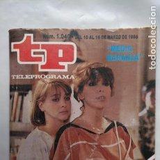 Coleccionismo de Revista Teleprograma: ANTIGUA REVISTA TP (TELEPROGRAMA) VER FOTO . Lote 153049042