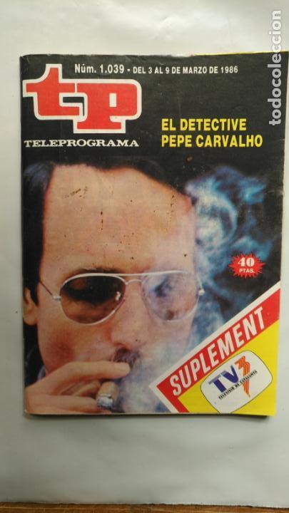 ANTIGUA REVISTA TP (TELEPROGRAMA) VER FOTO (Coleccionismo - Revistas y Periódicos Modernos (a partir de 1.940) - Revista TP ( Teleprograma ))