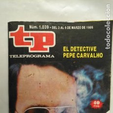 Coleccionismo de Revista Teleprograma: ANTIGUA REVISTA TP (TELEPROGRAMA) VER FOTO . Lote 153049118