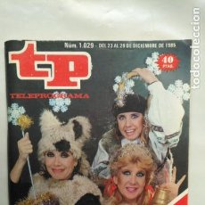 Coleccionismo de Revista Teleprograma: ANTIGUA REVISTA TP (TELEPROGRAMA) VER FOTO . Lote 153049186