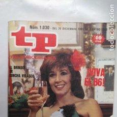 Coleccionismo de Revista Teleprograma: ANTIGUA REVISTA TP (TELEPROGRAMA) VER FOTO . Lote 153049210