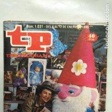 Coleccionismo de Revista Teleprograma: ANTIGUA REVISTA TP (TELEPROGRAMA) VER FOTO . Lote 153049242