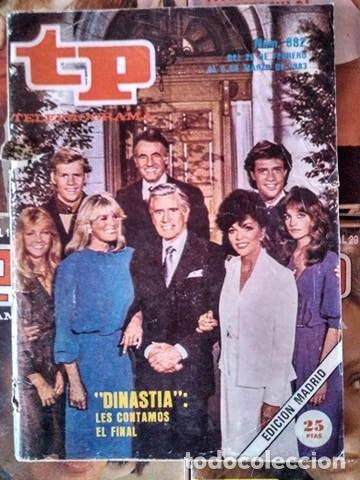 TP TELEPROGRAMA DINASTÍA 1983 (Coleccionismo - Revistas y Periódicos Modernos (a partir de 1.940) - Revista TP ( Teleprograma ))