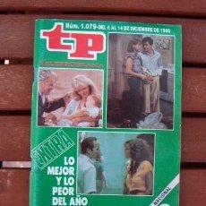 Coleccionismo de Revista Teleprograma: TP / TELEPROGRAMA / ESPECIAL LO MEJOR Y LO PEOR DEL AÑO 1986. Lote 155314078
