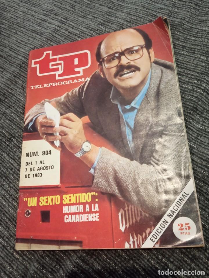 REVISTA TP TELEPROGRAMA Nº 904 AÑO 1983. UN SEXTO SENTIDO. HUMOR A LA CANADIENSE. (Coleccionismo - Revistas y Periódicos Modernos (a partir de 1.940) - Revista TP ( Teleprograma ))