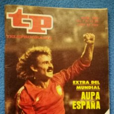 Coleccionismo de Revista Teleprograma: TP TELEPROGRAMA N. 844 JUNIO 1982. Lote 158266460