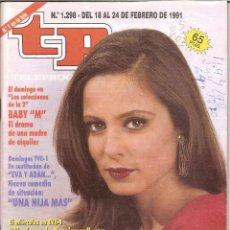 Coleccionismo de Revista Teleprograma: REVISTA TP - Nº - 1298 TELEPROGRAMA FEBRERO DE 1991. Lote 158526142