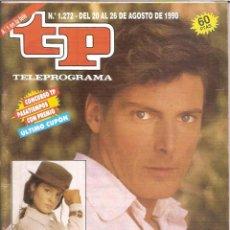 Coleccionismo de Revista Teleprograma: REVISTA TP - Nº - 1272 TELEPROGRAMA AGOSTO DE 1990. Lote 158526250