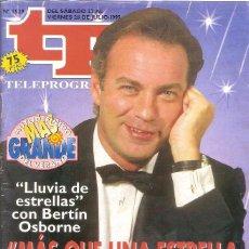 Coleccionismo de Revista Teleprograma: REVISTA TP - Nº - 1529 TELEPROGRAMA JULIO DE 1995. Lote 158527042