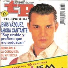 Coleccionismo de Revista Teleprograma: REVISTA TP - Nº - 1422 TELEPROGRAMA JULIO DE 1993. Lote 158527370