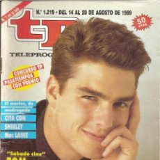 Coleccionismo de Revista Teleprograma: REVISTA TP - Nº - 1219 TELEPROGRAMA AGOSTO DE 1989. Lote 158527818