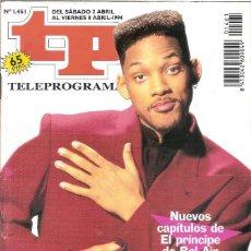 Coleccionismo de Revista Teleprograma: REVISTA TP - Nº - 1038 TELEPROGRAMA ABRIL DE 1994. Lote 158528186
