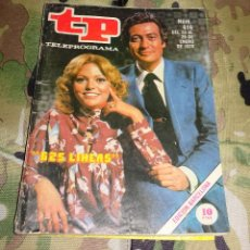 Coleccionismo de Revista Teleprograma: REVISTA TP TELEPROGRAMA Nº 616 - 625 LINEAS - 1978. Lote 158974382
