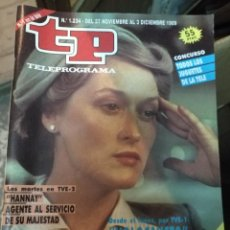 Coleccionismo de Revista Teleprograma: ANTIGUA REVISTA TP (TELEPROGRAMA) VER FOTO . Lote 159277494