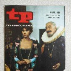 Coleccionismo de Revista Teleprograma: ANTIGUA REVISTA TP (TELEPROGRAMA) VER FOTO . Lote 159298122