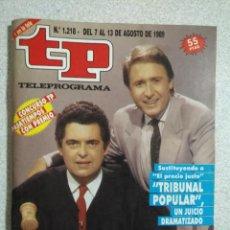 Coleccionismo de Revista Teleprograma: ANTIGUA REVISTA TP (TELEPROGRAMA) VER FOTO . Lote 159298866