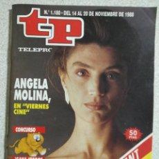 Coleccionismo de Revista Teleprograma: ANTIGUA REVISTA TP (TELEPROGRAMA) VER FOTO . Lote 159299618