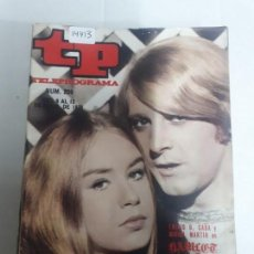 Collectionnisme de Magazine Teleprograma: 14413 - TP, TELEPROGRAMA - Nº 209 - AÑO DEL 1970. Lote 159346266