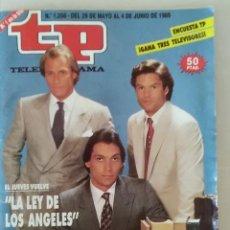 Coleccionismo de Revista Teleprograma: REVISTA TP N° 1208 MAYO DE 1989. TELEPROGRAMA. Lote 159349306