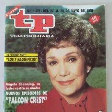 Coleccionismo de Revista Teleprograma: REVISTA TP N° 1207 MAYO DE 1989. TELEPROGRAMA. Lote 159350086
