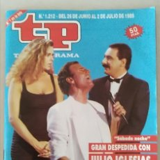 Coleccionismo de Revista Teleprograma: REVISTA TP N° 1212 JULIO DE 1989. TELEPROGRAMA. Lote 159350442