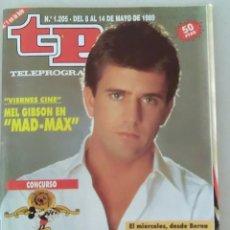 Coleccionismo de Revista Teleprograma: REVISTA TP N° 1205 MAYO DE 1989. TELEPROGRAMA. Lote 159359262