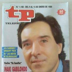 Coleccionismo de Revista Teleprograma: REVISTA TP N° 1188 ENERO DE 1989. TELEPROGRAMA. Lote 159359366