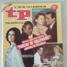 Coleccionismo de Revista Teleprograma: REVISTA TP N° 1206 MAYO DE 1989. TELEPROGRAMA. Lote 159359818