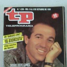 Coleccionismo de Revista Teleprograma: REVISTA TP N° 1226 OCTUBRE DE 1989. TELEPROGRAMA. Lote 159360538