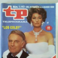 Coleccionismo de Revista Teleprograma: REVISTA TP N° 1143 FEBRERO DE 1988. TELEPROGRAMA. Lote 159360842