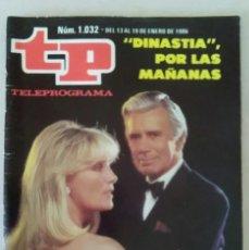 Coleccionismo de Revista Teleprograma: REVISTA TP N° 1032 1986. TELEPROGRAMA. Lote 159361218
