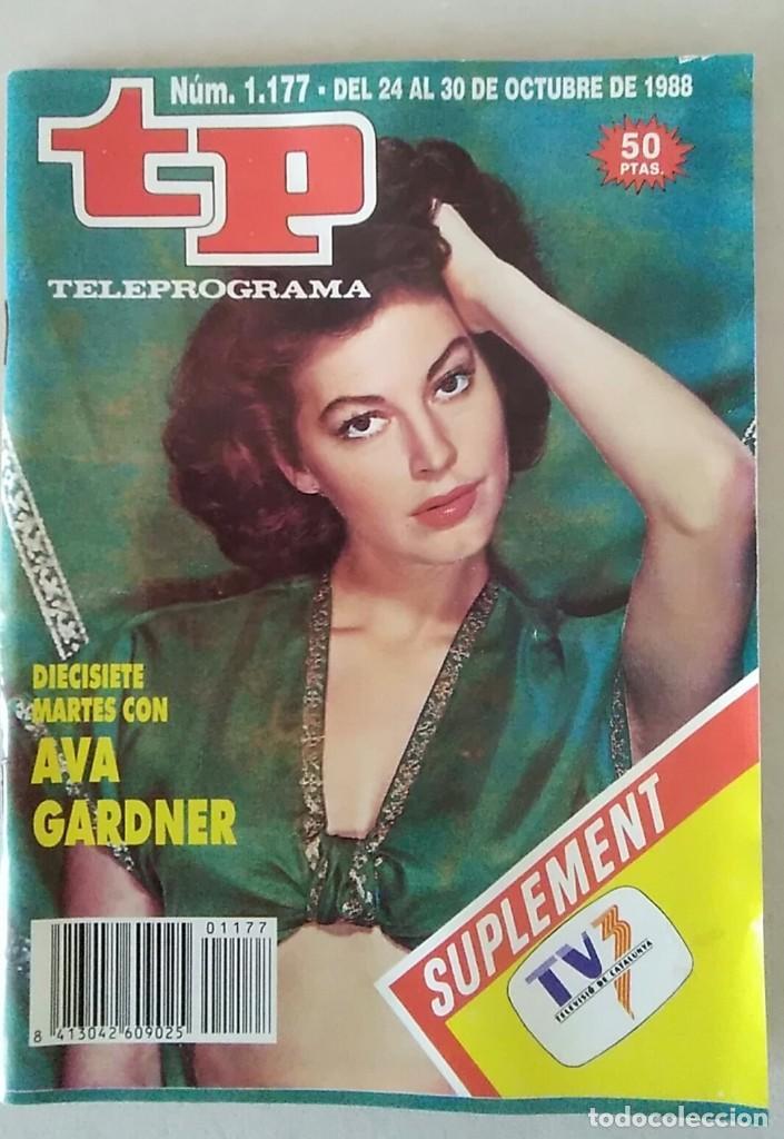 REVISTA TP N° 1177 1988. TELEPROGRAMA (Coleccionismo - Revistas y Periódicos Modernos (a partir de 1.940) - Revista TP ( Teleprograma ))