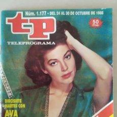 Coleccionismo de Revista Teleprograma: REVISTA TP N° 1177 1988. TELEPROGRAMA. Lote 159361422