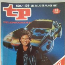 Coleccionismo de Revista Teleprograma: REVISTA TP N° 1109 1987. TELEPROGRAMA. Lote 159361678