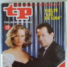 Coleccionismo de Revista Teleprograma: REVISTA TP N° 1139 1988 TELEPROGRAMA.. Lote 159379198
