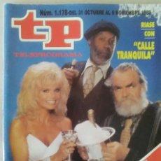 Coleccionismo de Revista Teleprograma: REVISTA TP N° 1178 1988 TELEPROGRAMA. . Lote 159379394
