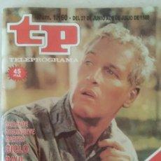 Coleccionismo de Revista Teleprograma: REVISTA TP N° 1160 1988 TELEPROGRAMA. . Lote 159379422