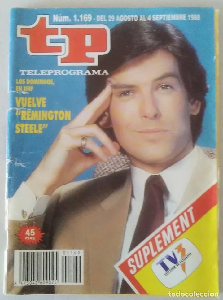 REVISTA TP N° 1169 1988 TELEPROGRAMA. (Coleccionismo - Revistas y Periódicos Modernos (a partir de 1.940) - Revista TP ( Teleprograma ))