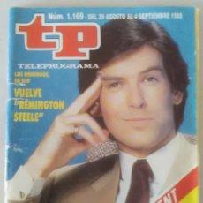 Coleccionismo de Revista Teleprograma: REVISTA TP N° 1169 1988 TELEPROGRAMA. . Lote 159379458