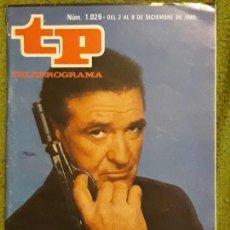Coleccionismo de Revista Teleprograma: REVISTA TP TELEPROGRAMA NUMERO 1026 AÑO 1985*. Lote 159992882
