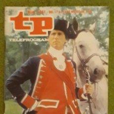 Coleccionismo de Revista Teleprograma: REVISTA TP TELEPROGRAMA NUMERO 1041 AÑO 1986*. Lote 159993170