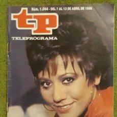 Coleccionismo de Revista Teleprograma: REVISTA TP TELEPROGRAMA NUMERO 1044 AÑO 1986*. Lote 159993302