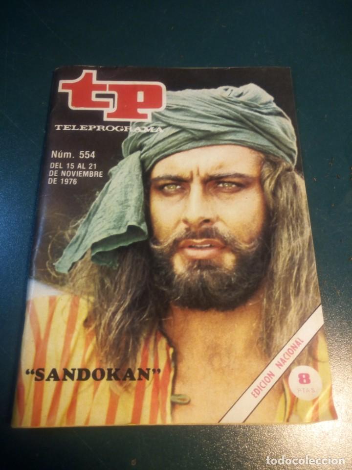 TP.AÑO 1976.NUMERO 554. (Coleccionismo - Revistas y Periódicos Modernos (a partir de 1.940) - Revista TP ( Teleprograma ))