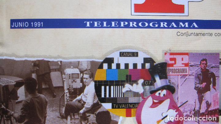 Coleccionismo de Revista Teleprograma: TELEPROGRAMA ESPECIAL 25 ANIVERSARIO + PASATIEMPOS Y FICHAS DINOSAURIOS - Foto 2 - 161753058