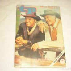 Coleccionismo de Revista Teleprograma: TELEPROGRAMA 245 , DICIEMBRE 1970 . EL GRAN CHAPARRAL.. Lote 164065806